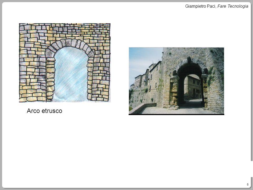 6 Giampietro Paci, Fare Tecnologia Arco etrusco