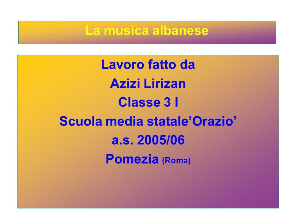 Lavoro fatto da Azizi Lirizan Classe 3 I Scuola media stataleOrazio a.s.