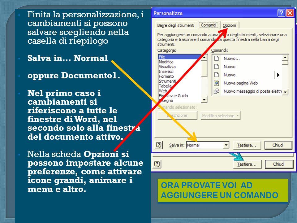 SERVONO PER SPOSTARE O COPIARE: Si seleziona il testo da spostare o copiare e si sceglie Copia(per copiare) o Taglia(per spostare) dal menu Modifica.