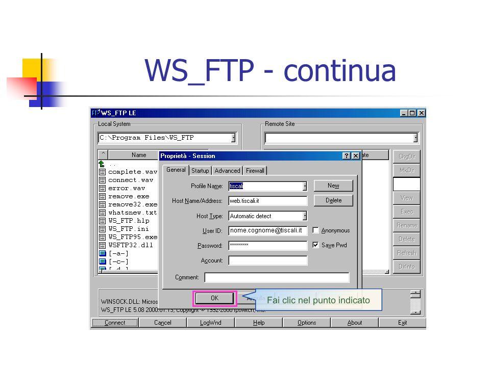 WS_FTP - continua
