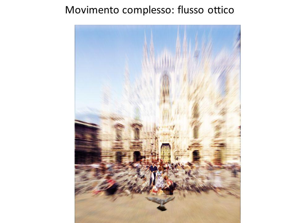 Movimento complesso: flusso ottico