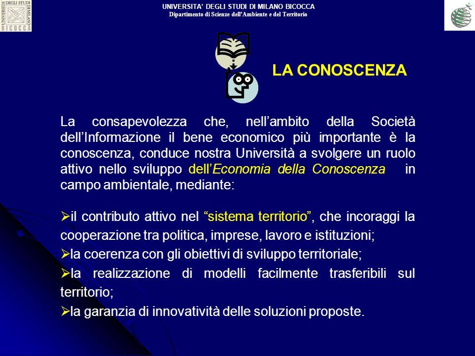 La consapevolezza che, nellambito della Società dellInformazione il bene economico più importante è la conoscenza, conduce nostra Università a svolger