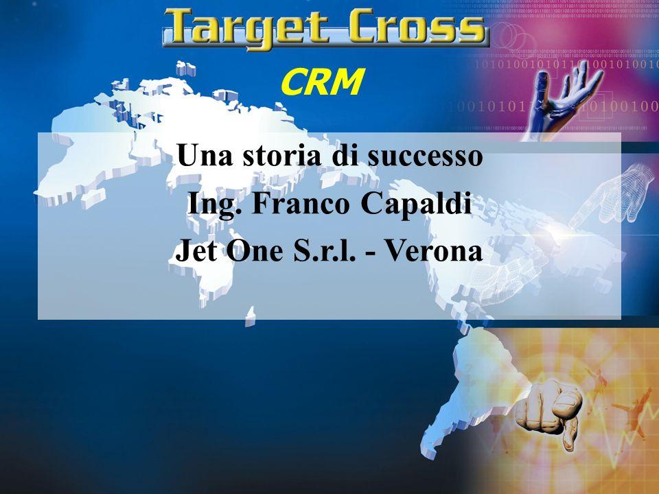 CRM Una storia di successo Ing. Franco Capaldi Jet One S.r.l. - Verona