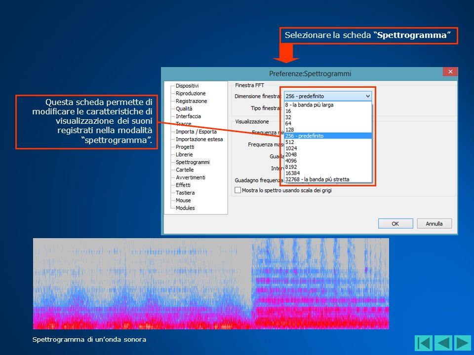 Il generatore di toni produce un suono della durata di 30 secondi.