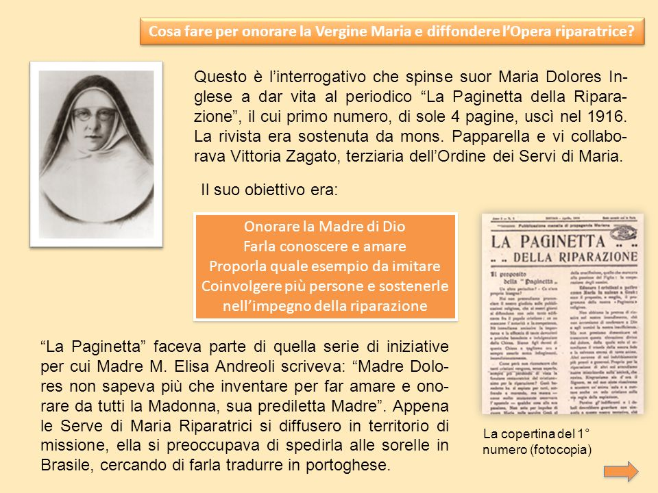 Cosa fare per onorare la Vergine Maria e diffondere lOpera riparatrice.