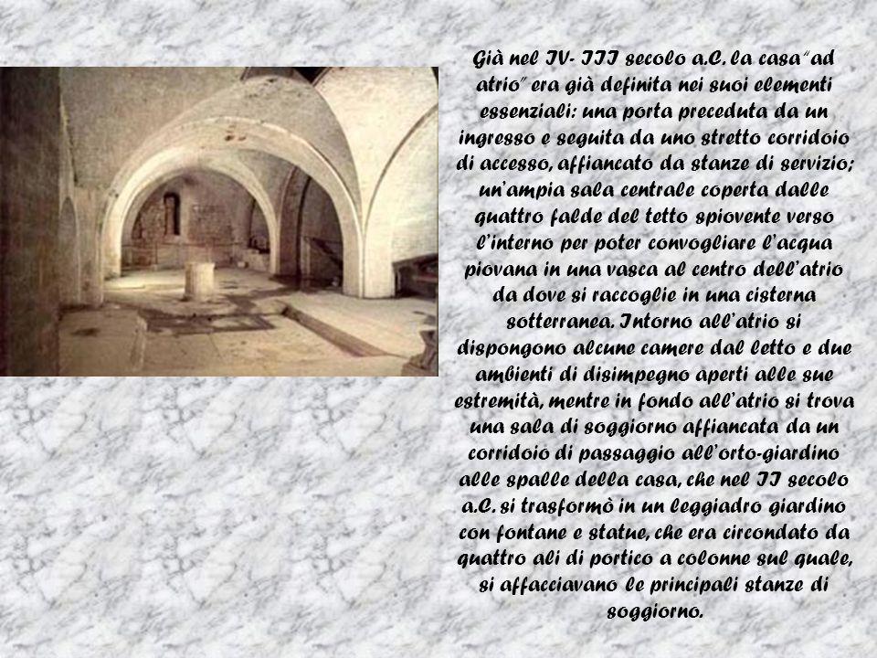 Già nel IV- III secolo a.C.
