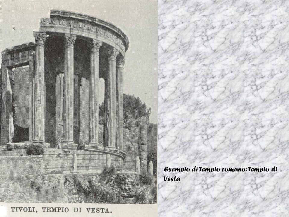 Esempio di Tempio romano: Tempio di Vesta