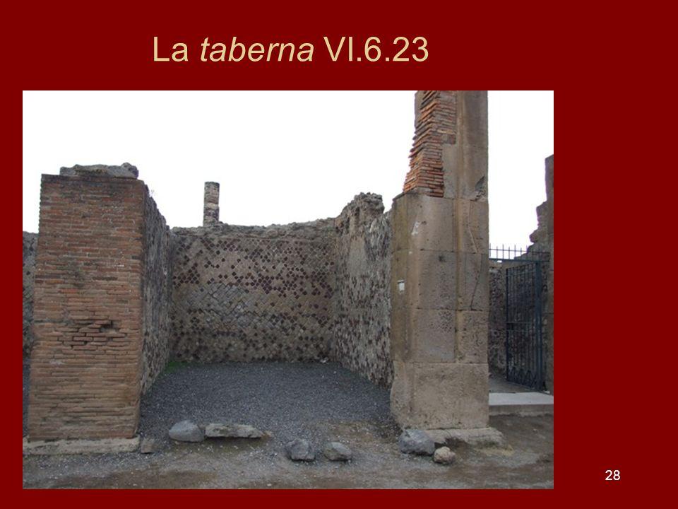 28 La taberna VI.6.23