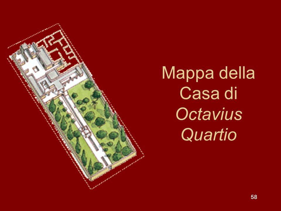 Mappa della Casa di Octavius Quartio 58
