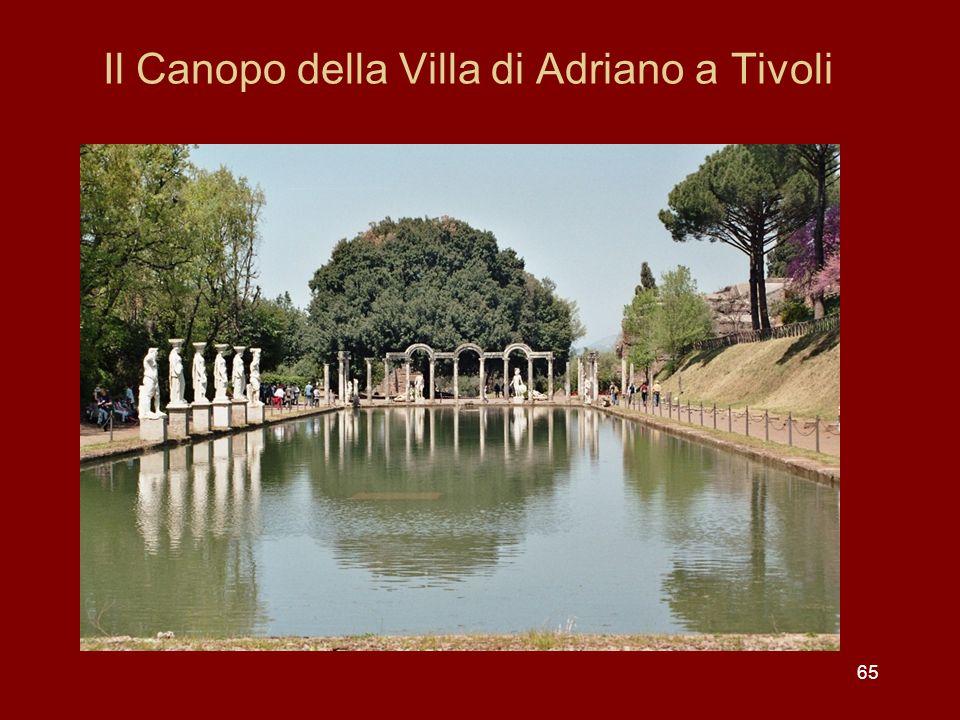 Il Canopo della Villa di Adriano a Tivoli 65