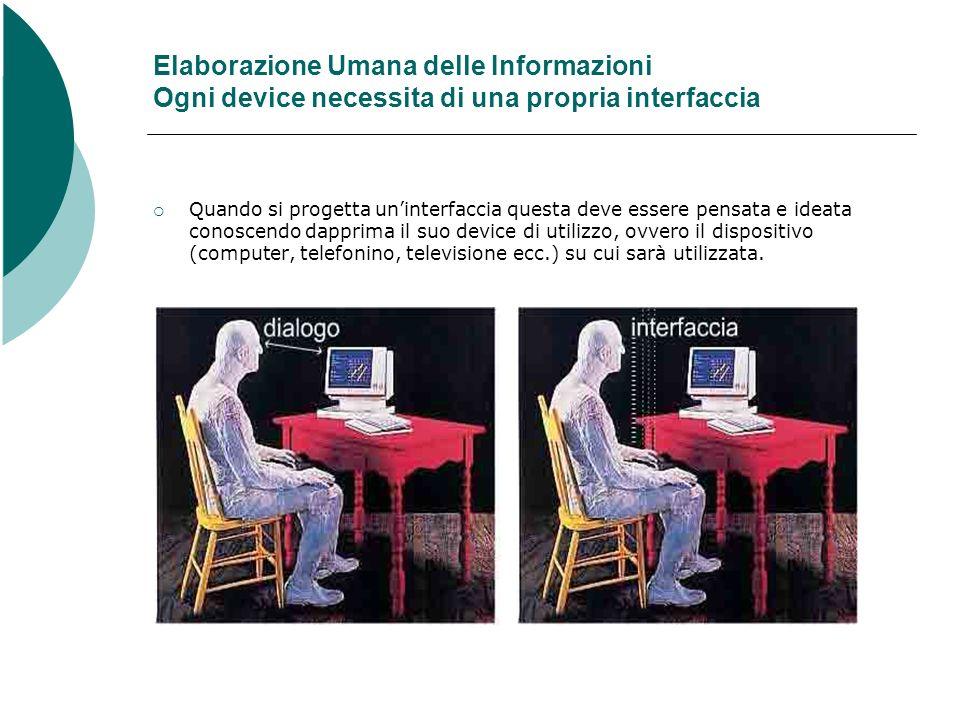Questa informazione preventiva è indispensabile, in quanto ogni dispositivo avrà proprie peculiarità e rispettivi limiti.