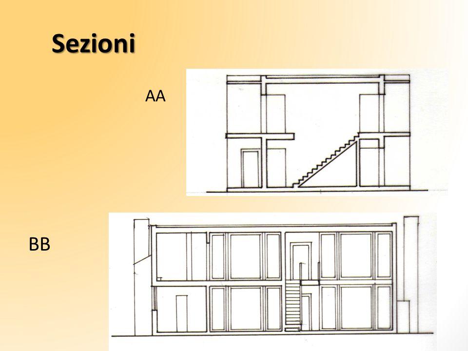 Sezioni AA BB