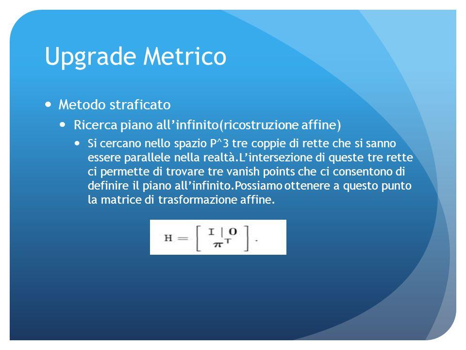 24 Bundle adjustment P3 i ---i-esimo punto 3d P j ---matrice di proiezione della j-esima coppia P2 j,i ---punto 2d riferito a P3i nellimmagine j 3D po