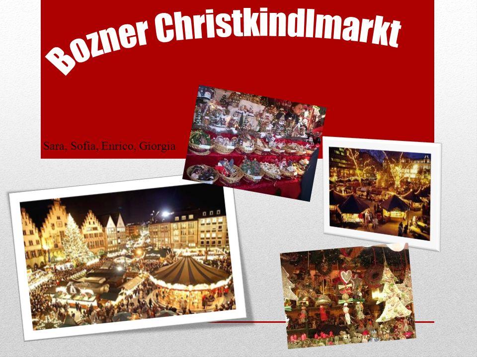 Il Mercatino di Natale di Bolzano o in tedesco Bozner Christkindlmarkt è una manifestazione commerciale che si tiene durante il mese di dicembre a Bolzano.
