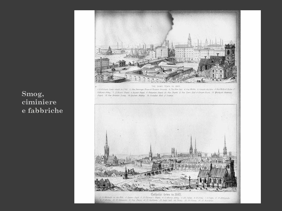 Smog, ciminiere e fabbriche