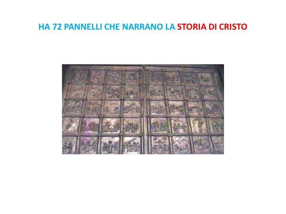 HA 72 PANNELLI CHE NARRANO LA STORIA DI CRISTO