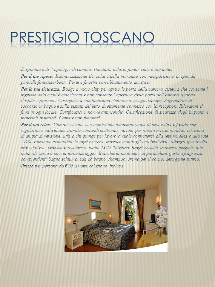 Disponiamo di 4 tipologie di camere: standard, deluxe, junior suite e romantic. Per il tuo riposo: Insonorizzazione dei solai e della murature con int