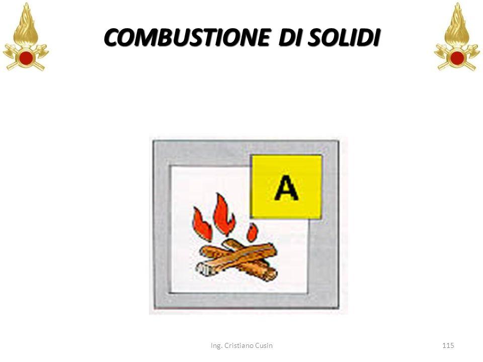 115 COMBUSTIONE DI SOLIDI