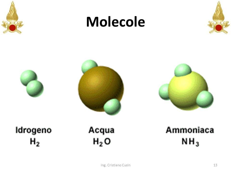 13 Molecole Ing. Cristiano Cusin