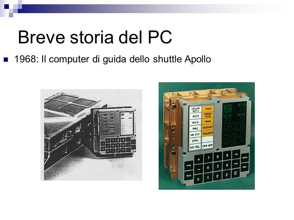 Breve storia del PC 1968: Il computer di guida dello shuttle Apollo