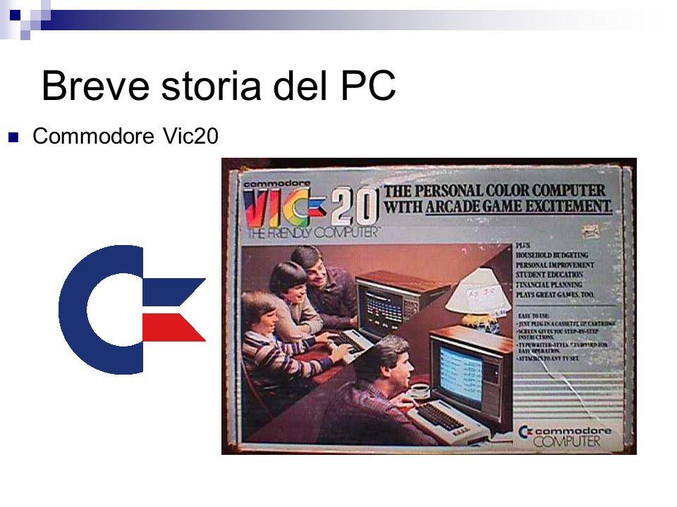 Breve storia del PC Commodore Vic20
