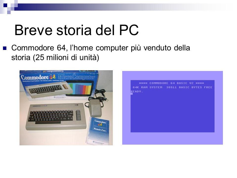 Breve storia del PC Commodore 64, lhome computer più venduto della storia (25 milioni di unità)