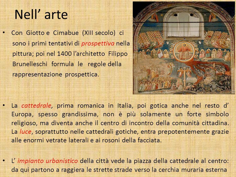 MEDIOEVO (476-1492) VICINO ovvero cosa ci ha lasciato come eredità il Medioevo: - nell arte - nella lingua e nella letteratura - nella scienza - nella