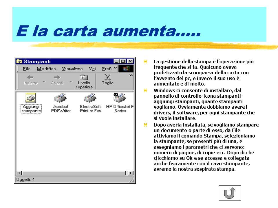 Il multitasking zWindows ci permette di lanciare più applicazioni nella stessa sessione di lavoro.