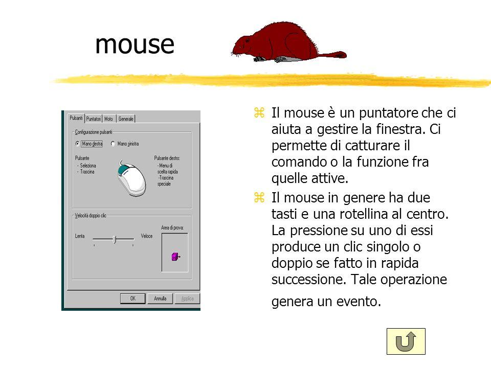 finestreeee zSulla scrivania (desktop) Windows permette di tenere aperte più finestre e non solo icone.