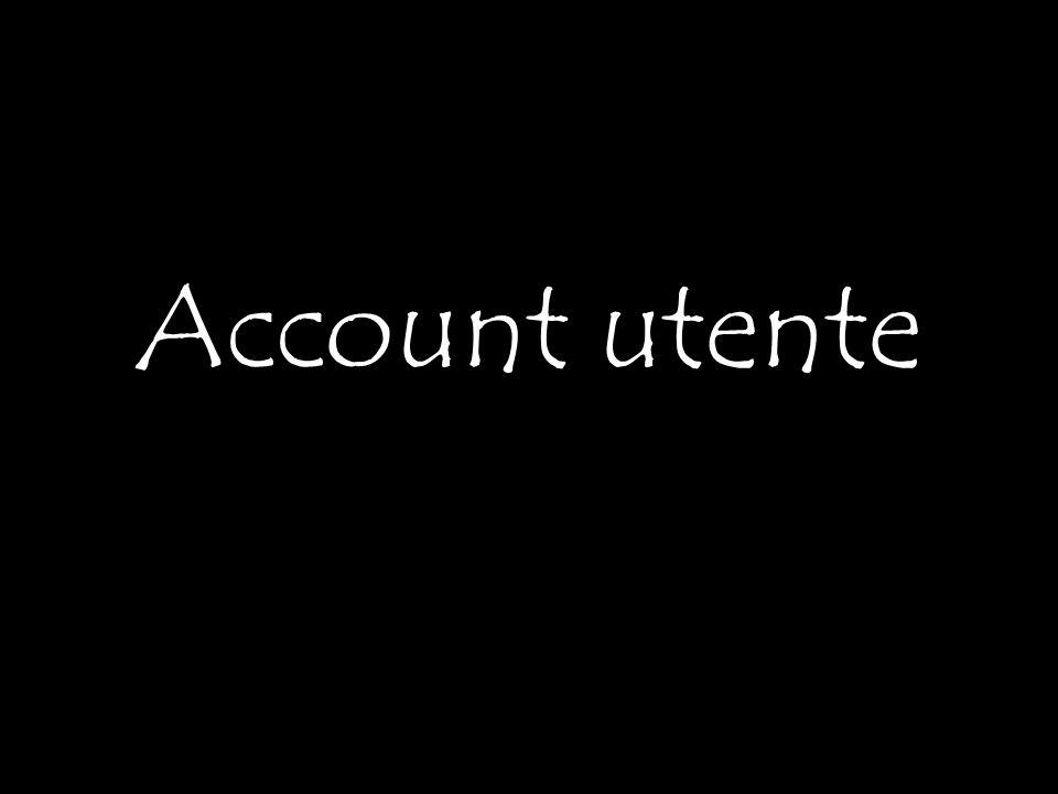 Account utente