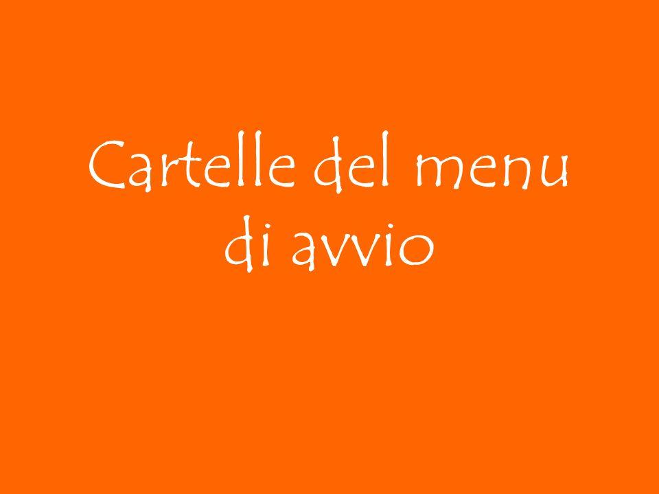 Cartelle del menu di avvio