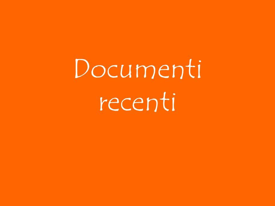 Documenti recenti