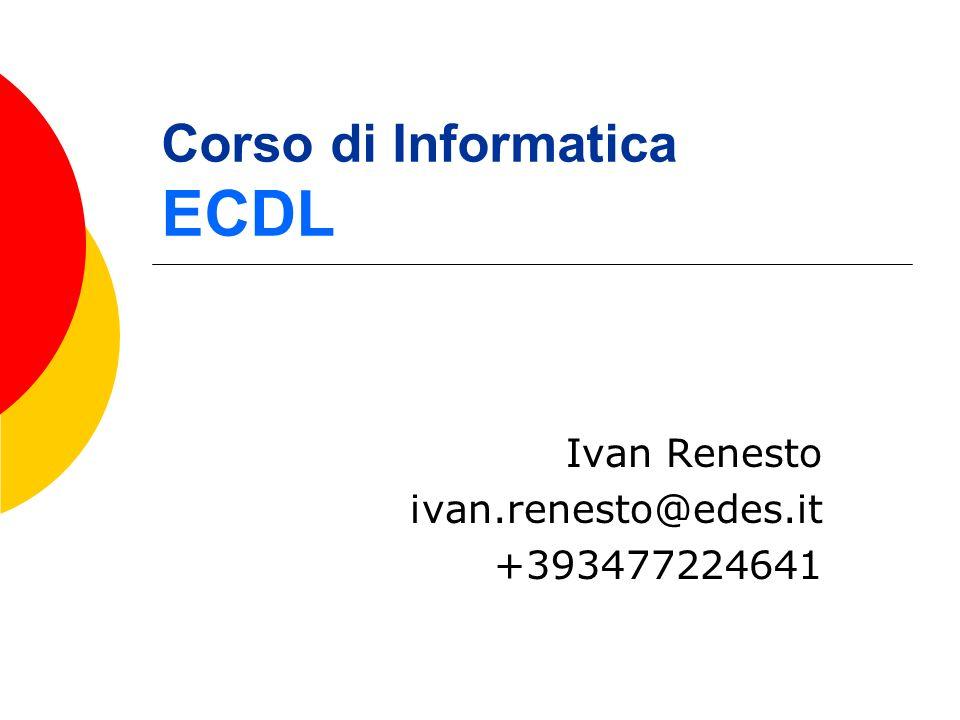 Ivan Renesto2 Libri di Testo Patente Europea del Computer VOLUME 1 VOLUME 2 Autori: Dameri, Foresti Jackson Libri