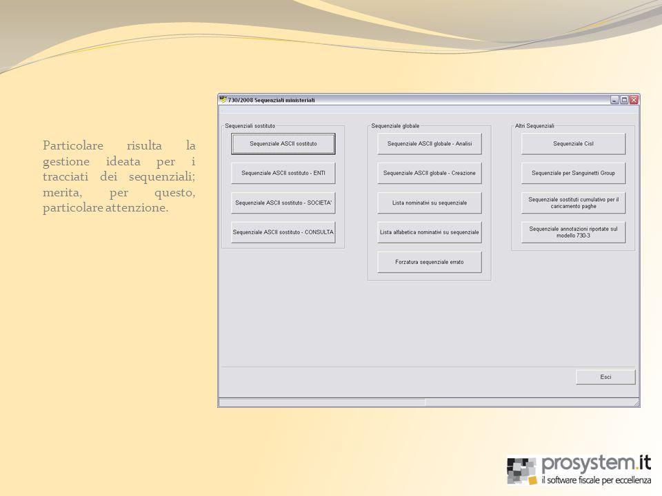 Le procedure Prosystem.it prevedono una suddivisione dei sostituti collegati ai dichiaranti, tra quelli per i quali è previsto linvio delle comunicazioni tramite Entratel e quelli di classica amministrazione.