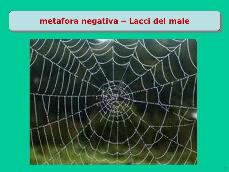 metafora negativa – Lacci del male 4