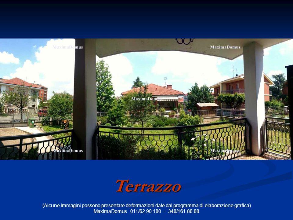 (Alcune immagini possono presentare deformazioni date dal programma di elaborazione grafica) MaximaDomus 011/62.90.180 - 348/161.88.88 Terrazzo