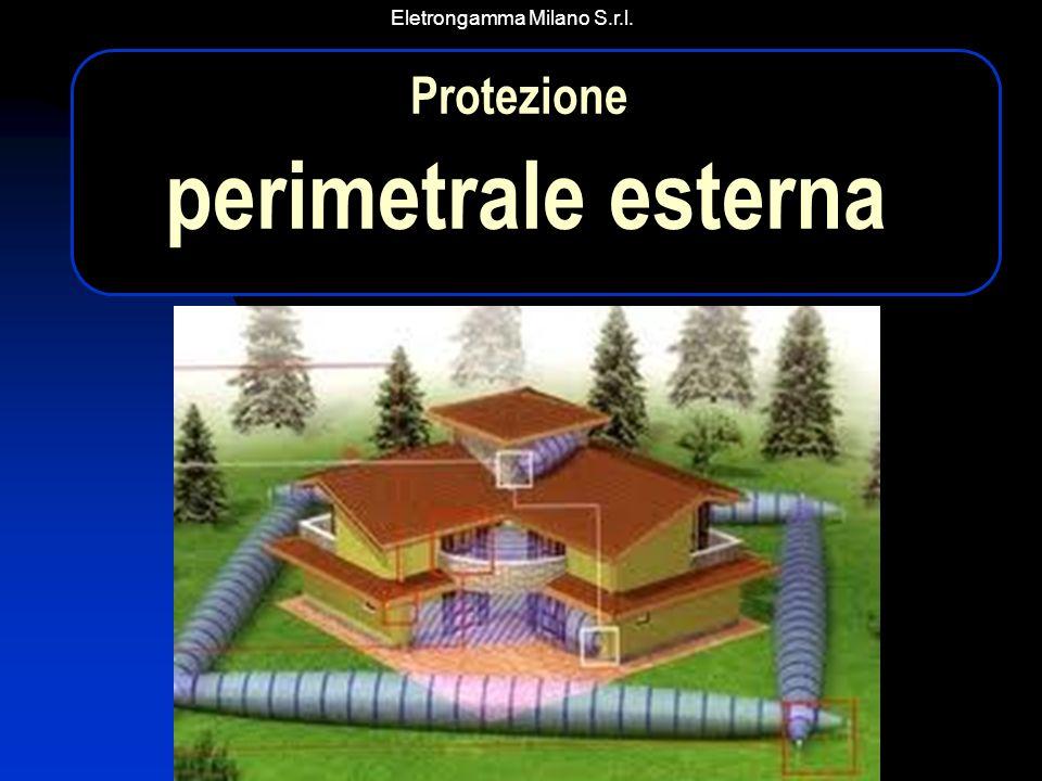 Eletrongamma Milano S.r.l. Protezione perimetrale esterna