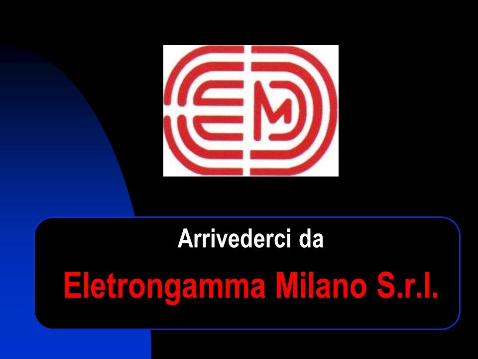 Eletrongamma Milano S.r.l. Arrivederci da
