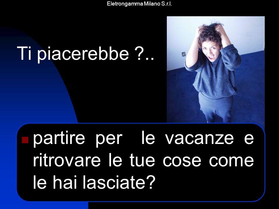 Eletrongamma Milano S.r.l. Ma a nessuno piace vivere in una prigione…