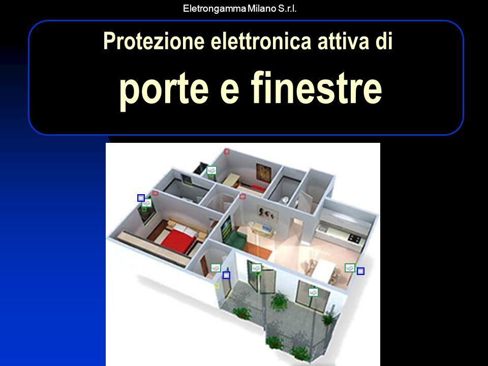 Eletrongamma Milano S.r.l. Protezione elettronica attiva di porte e finestre