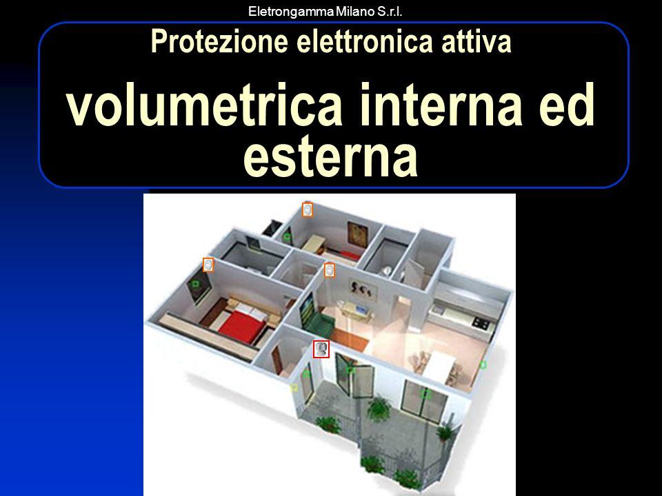 Eletrongamma Milano S.r.l. Protezione elettronica attiva volumetrica interna ed esterna