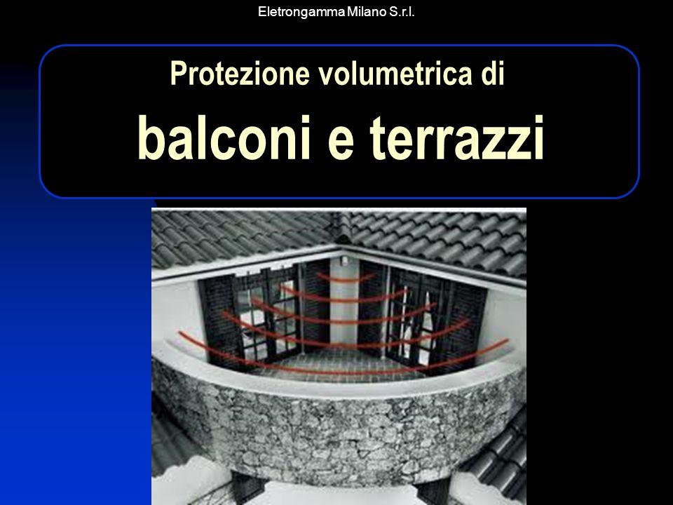Eletrongamma Milano S.r.l. Protezione volumetrica di balconi e terrazzi
