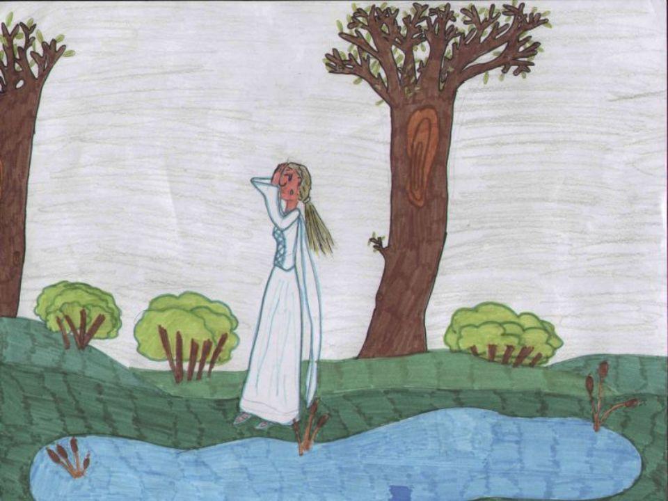 Tra le acque che sgorgano da tempo immemorabile nei fontanili del Pulignano viveva una fanciulla.