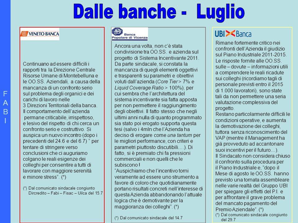 FABIFABI BCC/ ECCO LA NUOVA PIATTAFORMA CONTRATTUALE.