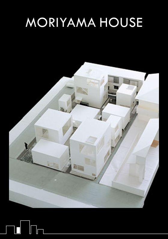 Moriyama House perciò non è un unica struttura, ma un condominio suddiviso in 10 grandi scatolette.