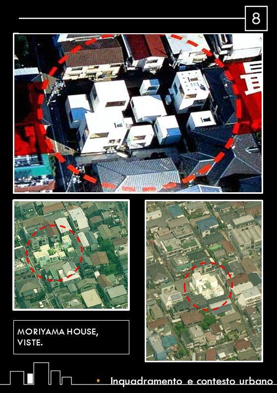 Dati Progettista: SANAA group Data di realizzazione: 2005 Superficie Lotto: 290.07m² Superficie costruita: 130.09m² Superficie totale dei piani: 263.32m² Tipo di costruzione: residenziale, familiare-singola Stile: moderno-minimalist