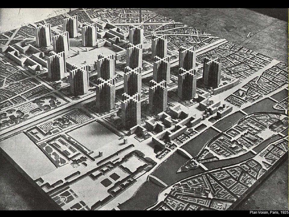 Plan Voisin, Paris, 1925
