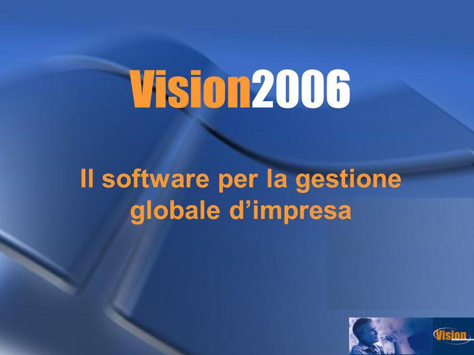 Articoli di magazzino Un Articolo di magazzino e definito da una propria scheda anagrafica che in Vision2006 e particolarmente dettagliata e completa.