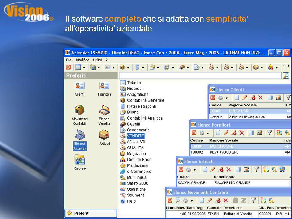 Documenti Digitali : raccoglie tutti i documenti digitali o file di diverso genere collegati allarticolo ( schede tecniche, ricette, progetti etc.)