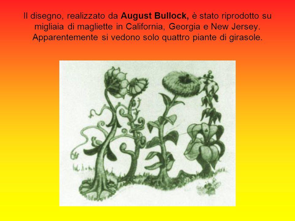 Il disegno, realizzato da August Bullock, è stato riprodotto su migliaia di magliette in California, Georgia e New Jersey. Apparentemente si vedono so